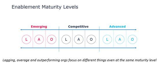 enablement maturity levels